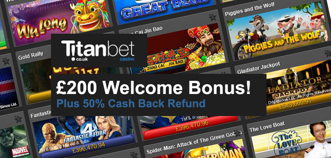 Casino.com - Online Casino | $/£/€400 Welcome Bonus
